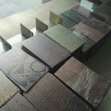 Feuille plaquée par cuivre d'acier inoxydable gravure de couleur pour le matériau de construction