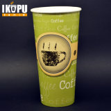 tazas de café calientes del papel de la bebida de la pared doble disponible 16oz