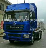 Camion della testa del trattore delle rotelle del diesel 10 di Shacman 6X4