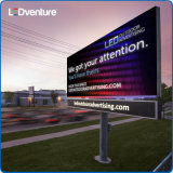 Pubblicità esterna della video parete di colore completo HD LED, luminosità impermeabile e alta