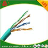 UTP/FTP/SFTP Cat5e CAT6 CCA Netz-Draht LAN-Kabel des Cu-LSZH 24AWG