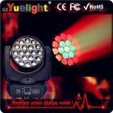 zoom chiaro capo mobile dell'occhio LED dell'ape 19PCS*12W con il FCC di RoHS del Ce
