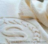 Отель на заказ Тканые Рельефные жаккардовые Logo полотенце для рук
