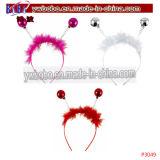 Articles promotionnels pour le tissage de cheveu de bandeau de cadeau de Noël (P3052)