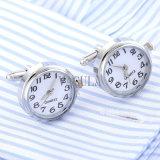 VAGULA 최신 인기 상품 실제적인 시계 커프스 단추 운동 시계 커프스 단추 결혼 선물 Gemelos 628