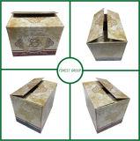 주문 고품질 4 팩 색깔 포도주 물결 모양 상자