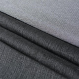 スーツのユニフォームのために行間に書き込むWeft挿入によって編まれるうたた寝のブラシをかけるインターフェイスポリエステル