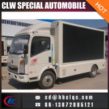 Light HOWO LED Mobile Advertising Vehicle Mobile Outdoor LED Truck