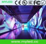발광 다이오드 표시 또는 영상 벽 (500*500mm/500*1000mm)를 광고하는 실내 P4.81 임대료