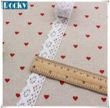 Accesorios del cordón de DIY de coser de algodón blanco adornos de encaje de la frontera del cordón