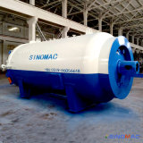 autoclave Heated elétrica aprovada do vidro laminado do Ce de 2500X5000mm (SN-BGF2550)