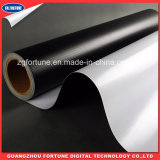 Bandeira Branco-Preta lustrosa do cabo flexível do PVC Blockout da venda 2016 quente para anunciar