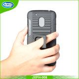 Projetar a caixa plástica dura macia do telefone do Holster do robô de TPU para o jogo G4 com carrinho