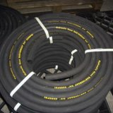 6 Schicht-Stahldraht-Spirale-Öl-beständiger flexibler Schlauch-hydraulischer Schlauch
