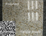 Azulejo de suelo oxidado amarillo natural modificado para requisitos particulares G682