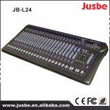 смеситель звуковой системы 24-Channel цифров профессиональный тональнозвуковой