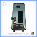 Pantalla táctil elegante móvil del teléfono celular TFT LCD para el borde G9500 de Samsung S8