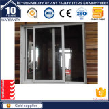 Prix usine bon de modèle du guichet de glissement en aluminium de Chine