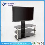 TVの立場の居間のステンレス鋼表現代TVの家具