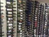 Cremagliera fissata al muro del vino delle bottiglie di serie 36 della parete della cantina per vini