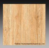 建築材料600X600mmの木製の一見の無作法な磁器の床タイル(TJ6617)