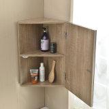 Vanidad de la esquina de la esquina del cuarto de baño con el espejo