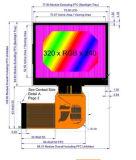 "3.5 "" Baugruppe der LCD-Bildschirmanzeige-TFT, 320X240 SerienSpi, wahlweise freigestellter Touch Screen"