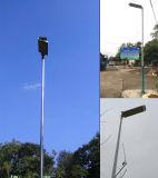 15W-80W LEDの照明灯の太陽電池パネルが付いている太陽屋外の街灯