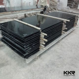 il nero Corian di superficie solido della fabbrica di 12.7mm Cina