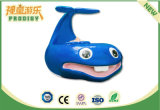 Macchina educativa del gioco della Tabella della sabbia della balena del giocattolo del campo da giuoco dell'interno per i capretti