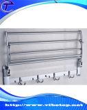 Rekken van uitstekende kwaliteit van de Handdoek van het Roestvrij staal de Multifunctionele met Haken (RT-04)