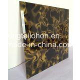 Dekoration-Haus-Glas für das Wand-Kunst-Entwurfs-Glas verwendet für Salon, Hotel