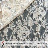 Tela de algodão para o laço do vestido de casamento (M3038)