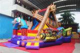 Barco pirata obstáculo de salto inflable de la gorila para los niños (CHOB520-1)