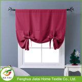 A cortina da cozinha ajusta cortinas cor-de-rosa bonitas baratas da cozinha