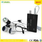 Magnifier sostituibile di funzionamento chirurgico di vetro delle lenti di ingrandimento dentali