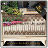 Ornamenti di alluminio decorativi esterni della rete fissa del ghisa del metallo per la decorazione del giardino