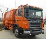 Compresa de la basura de 12 T y carro exportados del transporte