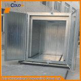 Processo Cl1815 e forno elettrico Pulver Herdeovn del rivestimento della polvere in lotti