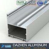 Profil en aluminium en aluminium du marché de l'Algérie pour la porte de guichet