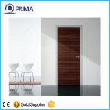 Portas de madeira do banheiro moderno com folheado do temporizador