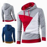 Фуфайка новых ваток Hoodie пуловера людей тонких теплых с капюшоном (A201)