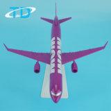 A321neo Wow 22cm Modellen van de Vliegtuigen van het 1:200 van de Luchthaven de Plastic Miniatuur