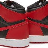 Воздух Jondan Aj 1 Og Whosleasle a+ Nik развел ретро запрещенные ботинки спортов баскетбола весь размер