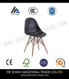Hzpc133 os pés de madeira de Banshi do assento plástico vermelho grande