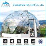 Het openlucht Polystyreen van het Huis van de Koepel van het Glas van de Structuur van het Aluminium/de Geodetische Tent van de Boog