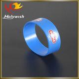 Wristband registrabile del silicone stampato marchio su ordinazione dei braccialetti