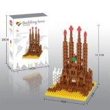 os blocos da série dos edifícios do jogo do bloco 14889404-Micro ajustaram o brinquedo educacional creativo 490PCS de DIY - Sagrada Familia