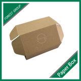 Caixa ondulada de empacotamento do transporte do papel de embalagem Com logotipo feito sob encomenda
