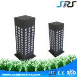 Lâmpada solar ao ar livre de alumínio elevada do teste padrão da estrutura do jardim da luz do gramado do desempenho de custo